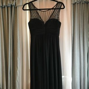 black gown- size 4